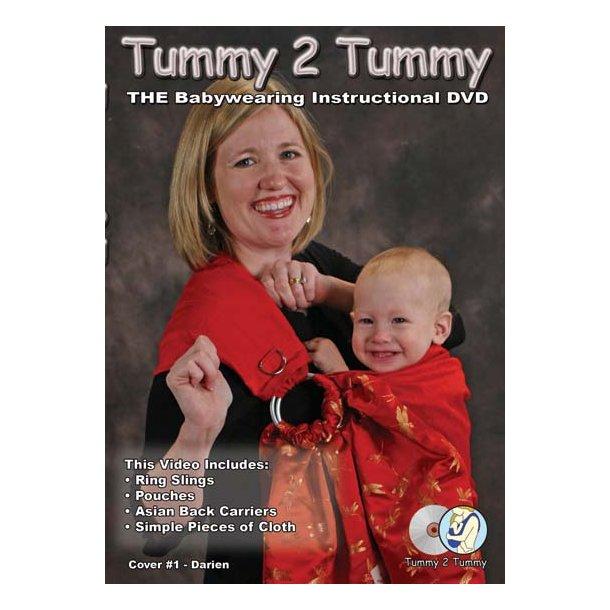 Tummy2Tummy DVD med bærestillinger.