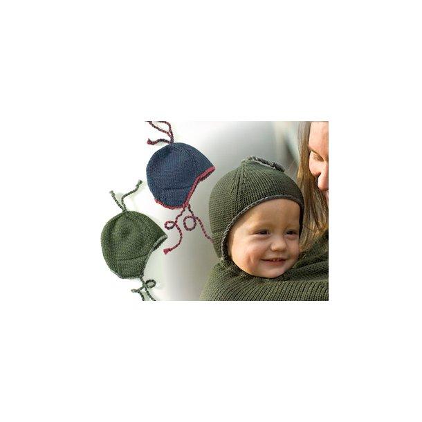 Baby hue i 100% ren uld der matcher MamaPoncho 56/62.